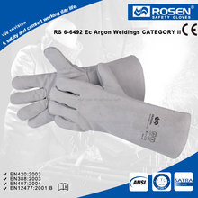 RS SAFETY General purpuse industrial leather hand gloves manufacturers in china at good Welding gloves price