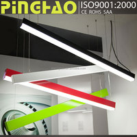 Latest Products led linear pendant hanging light 1.2meter 30W office light
