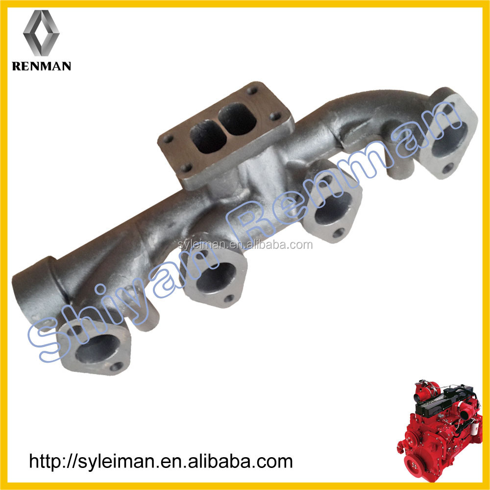 stainless steel exhaust manifold,cast iron exhaust manifold,turbo exhaust manifold 3943875