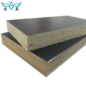 Guangxi Factory Hardwood film faced plywood concrete formwork