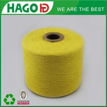Ne 20s China yarn supplier open end regenerated cotton bed sheet yarn lot