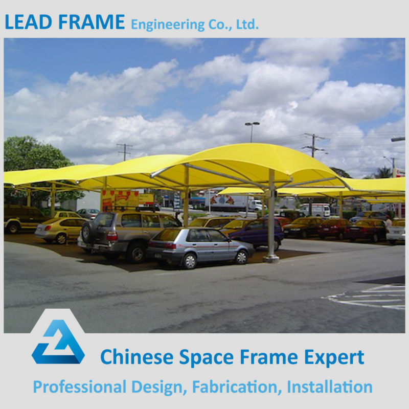 Prefab Metal Canopies Steel Sheds For Car Parking