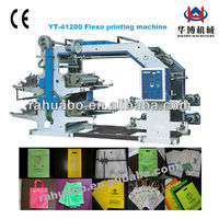 flexographic printing machine 4 color film printing machine