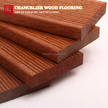 90x19mm Waterproof Merbau backyard hardwood timber decking