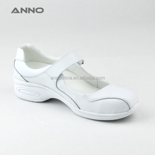 White nursing medical shoes with heels