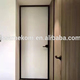 Italian aluminum bedroom glass swing door