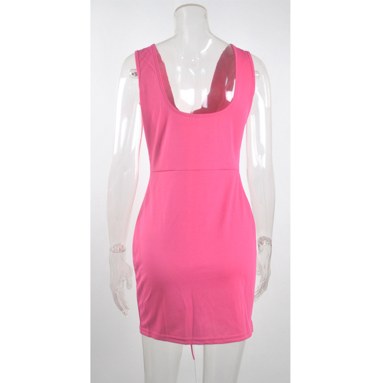 ... Indian Dress Sari Women Clothing Cotton 2018 Hot Couture Corns  Sleeveless Backless Sexy Dress Skirt Nightclub 88e0a965e414