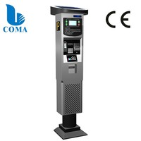 Ticket vending machine for parking payment system