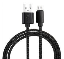 2017 Wholesale USB Extension Nylon Braided 2A Charging Speed 3M Micro USB Cable