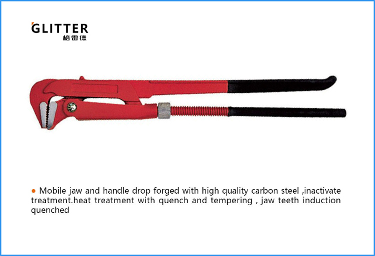 BTP06 90 Degrees Light Duty Swedish Pipe Wrench