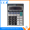 China Supplier 12 Digits Solar Electronic Gift Calculator Big Button