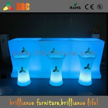 used nightclub furniture/party cocktail tables/acrylic led cocktail bar table