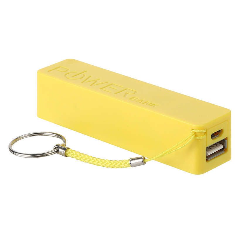 Low Price Gift Perfume Power Bank 800mah 1000mah 2600mah Keychain Mobile Emergency Charger