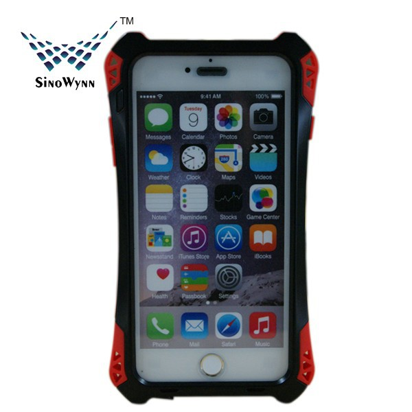 For Aluminum Phone 6 Case,Durable Metal Waterproof Shockproof Dirtproof Phone Case for Phone 6/6s Plus
