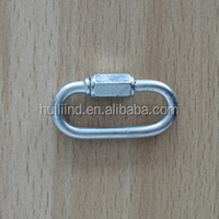 stainless steel oval quick link snap hooks
