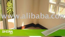 Skirting, Fiber cement board
