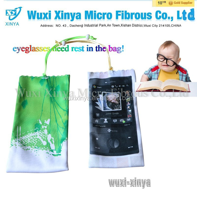 Microfiber Eyeglasses Pouch bag - Full Color,Microfiber Eyeglasses Pouch Carrying Pouch/Cleaning Cloth