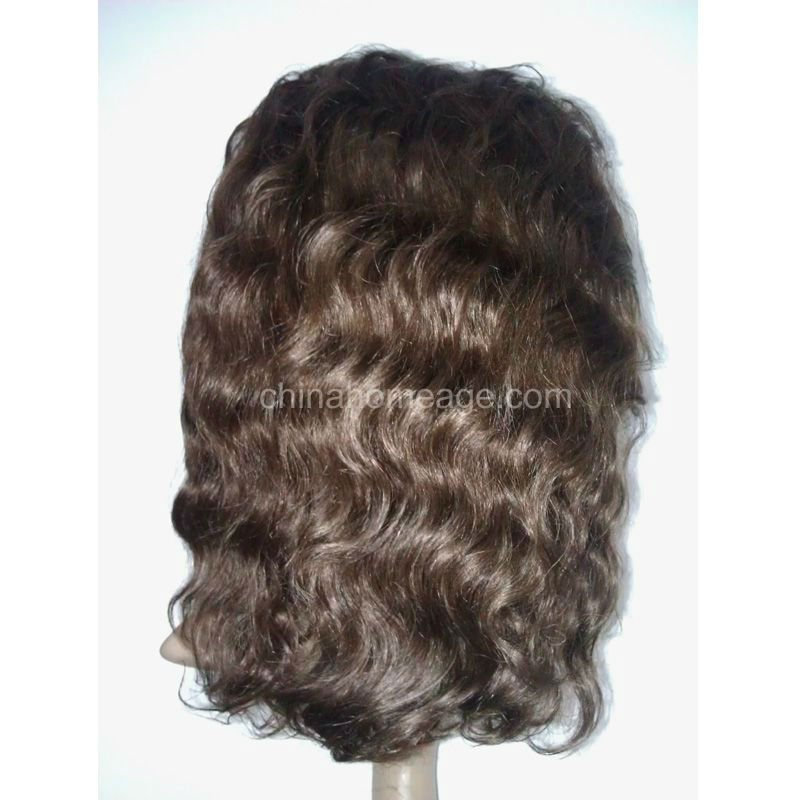 homeage lace front piece remy human hair