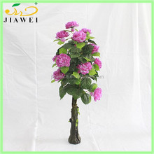 artificial peony flower tree making craft