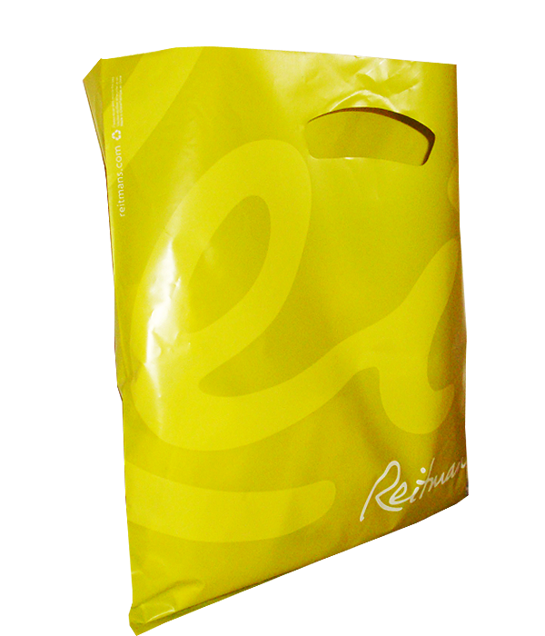 HDPE plastic handle bags