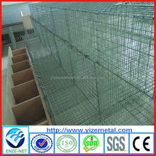 Alibaba hot sale hot dip galvanized wire breedign mink cages with wooden box/professional manufacture /high quolity, best price