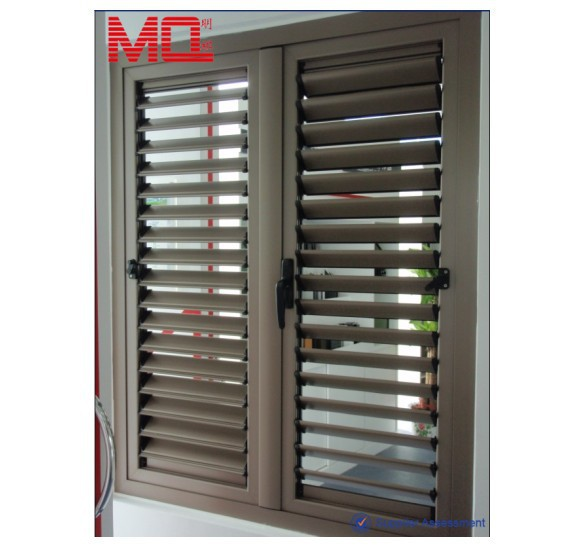 Aluminum louver windows/louvered windows frame