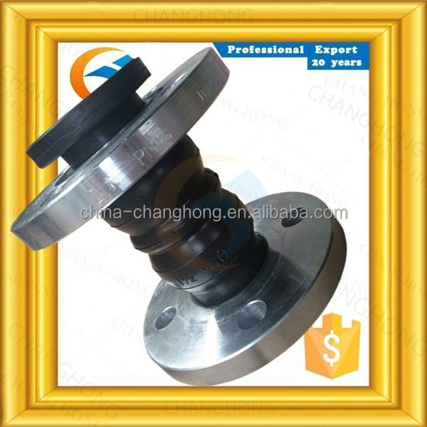 PN16 pn16 screwed epdm rubber expansion joints with double sphere
