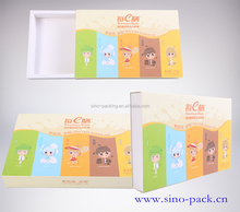 food and beverage paper card drawer shape package box