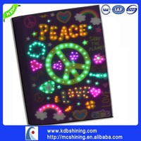 LED Promotional Items Office Paper Diary Supply