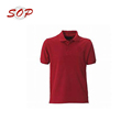 High Quality Printing Custom Made Red Polo Shirt
