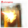 6mm 1.5 hour Fire Rated Glass Sliding Door on sale