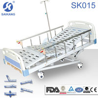 Multi-function Manual Hospital Clinic Bed Furniture For Disable People