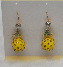 2014 Multi Hot Sale pineapple shape earring made in china