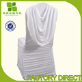 Free Shipping swag back spandex chair cover with valance