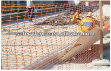 Plastic temporary safety mesh/safety snow fence