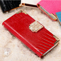 Hot selling western bling bling diamond crystal phone case mobile cover for Iphone 5 5S