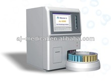60 Samples/hour 5 Part Differential Fully Auto Hematology Analyzer with Auto Loader and Color Large TFT Touch Screen Operation