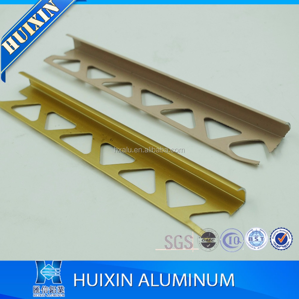 various colors aluminum ceramic l shaped tile trim