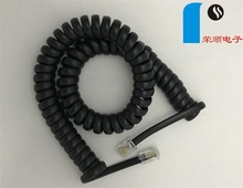 RetractableTelephone cable handset coied cord