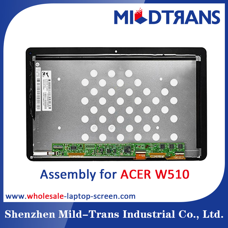Hot Selling LP101WH4-SLAA LP101WH4-SLAB LCD Display + Touch Screen Digitizer Assembly For 10.1inch ACER W510