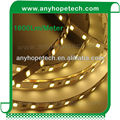 2015 China new products 75LEDs 124W 5630 led strip black pcb