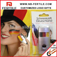 Football Fans Sport Non-toxic 3 Colors Face Paint