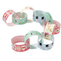 Traditional Paper Chains Christmas Art Craft Hanging Decorations