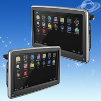 Factory price of 10 inch headrest car dvd player with touch screen and hdmi port car headrest dvd