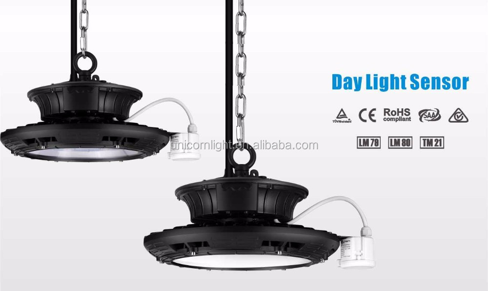 remote control Micro-wave sensor UFO highbay, industrial lighting led