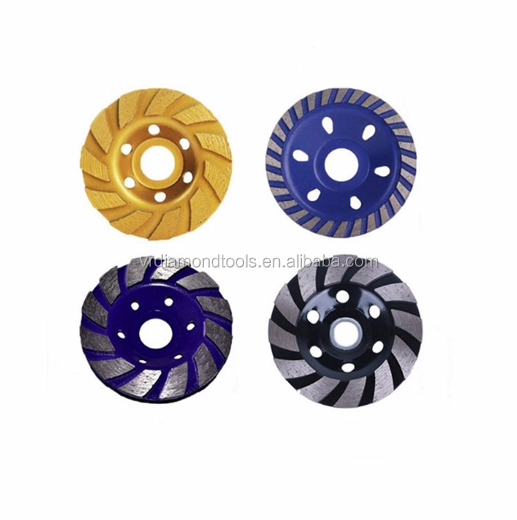 new premium 125mm flower type 5 inch granit cup grinding wheel,segment diamond cup wheel,cup shaped grinding wheels for concrete