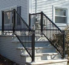 Black powder coated prefabricated railings with high qulity (Hebei)