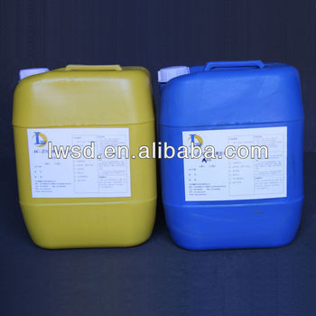 Two component acrylate resin grouting material