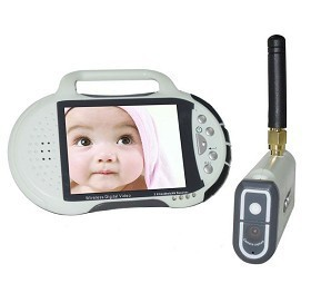 "Besnt 2.8"" lcd two-way speaking baby monitor 100m transmitting distance video camera BS-W234"