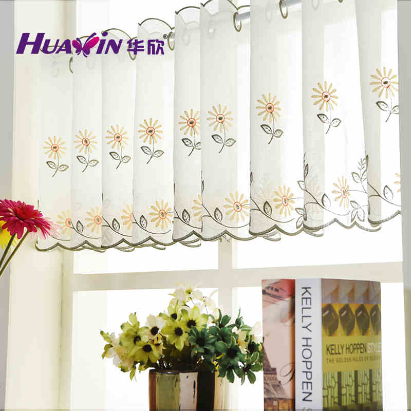 latest designs of curtains sheer cafe curtains,fancy kitchen curtain